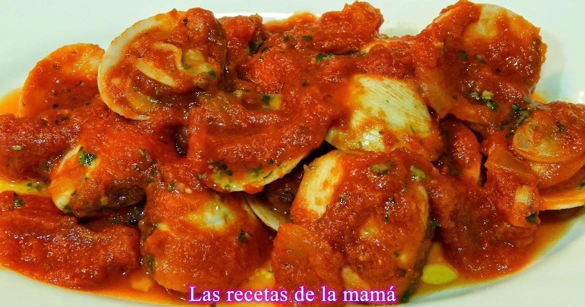 Las recetas de la mam receta de almejas con salsa de tomate - Superchef cf100 ...