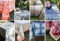 Shibori dyed 'Bohemian Chic' de Texturas Urbanas