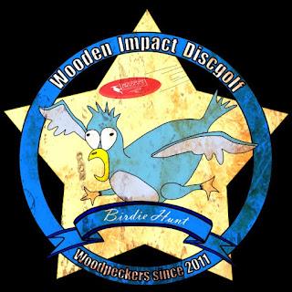 Disc Golf Birdiehunt 2014 Logo
