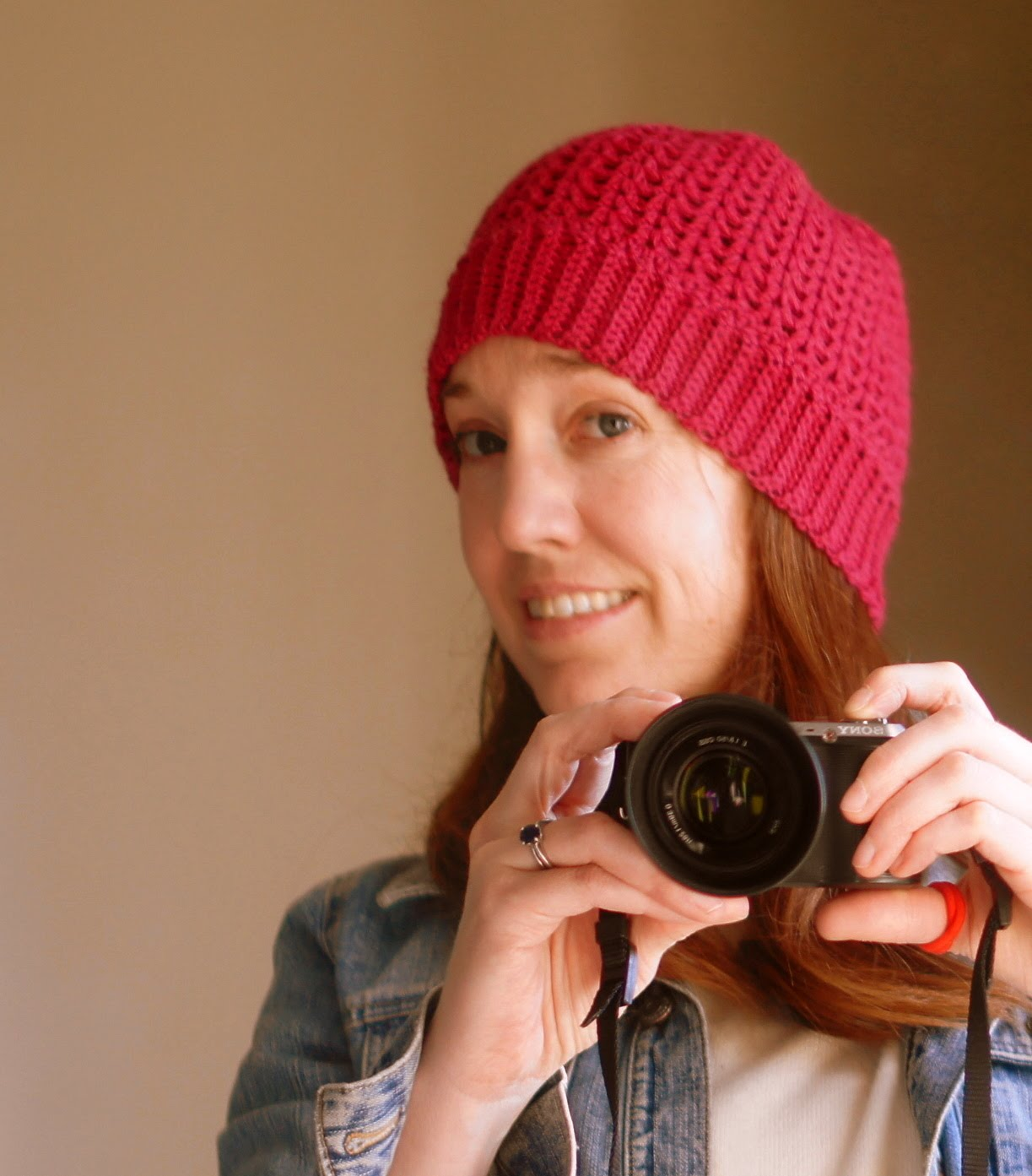 Crochet V Stitch Hat : ... Hank n Skein: Free Crochet Hat Pattern - The Perfect V-Stitch Hat