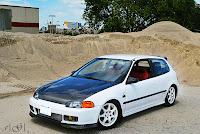 28. Zdjęcia #004: Honda Civic 5-gen. hatchback EG. staryjaponiec