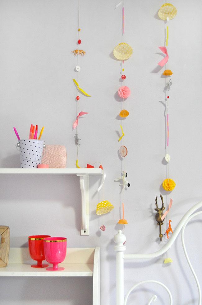 Found Objects Garland | Snowdrop & Co