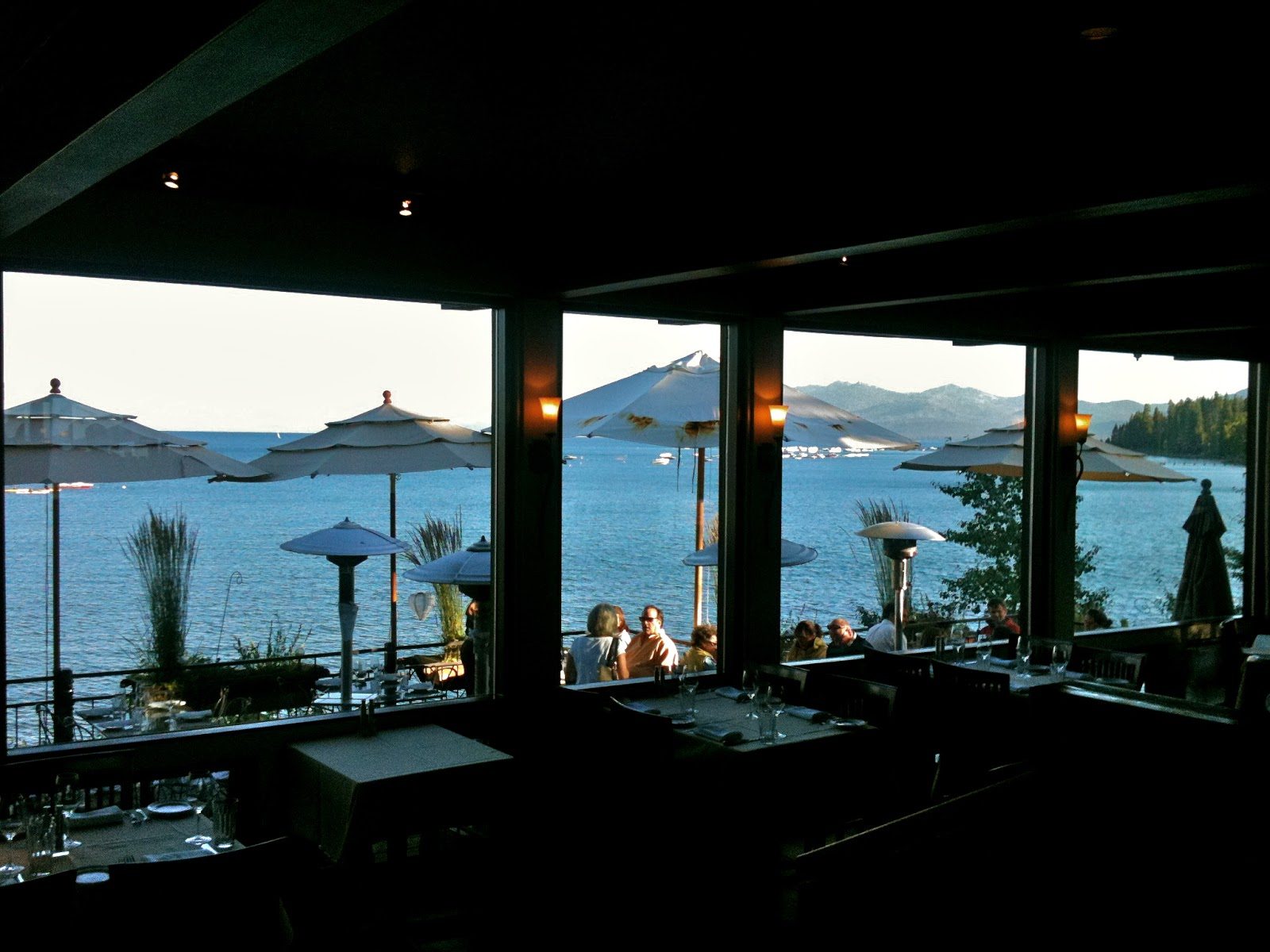 Simple Pleasures Dining Out In Lake Tahoe