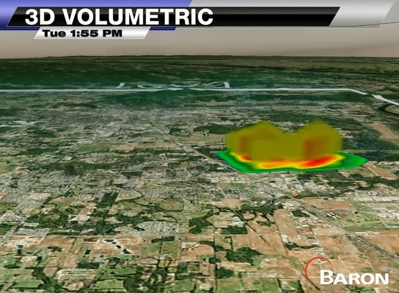 In Photos: Mysterious Radar Blob Puzzles Meteorologists