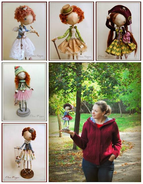 куклы Елены Коган