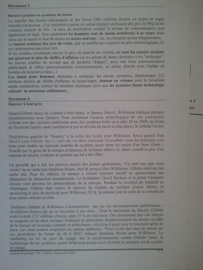 Examen de Passage TSC Pratique et Théorique 2010 007