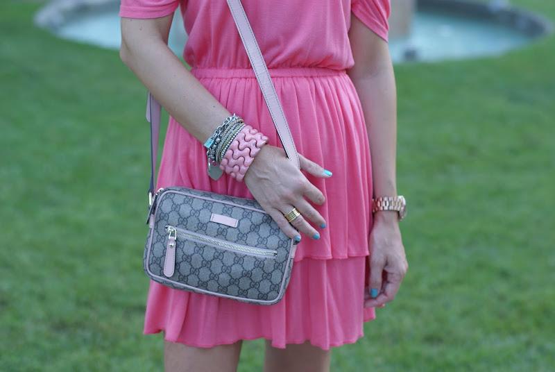 Gucci bag, arm candy