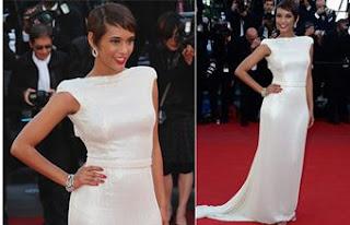 Taís Araújo chama atenção em Cannes e Uma Thurman pergunta: 'Quem é a beldade?'