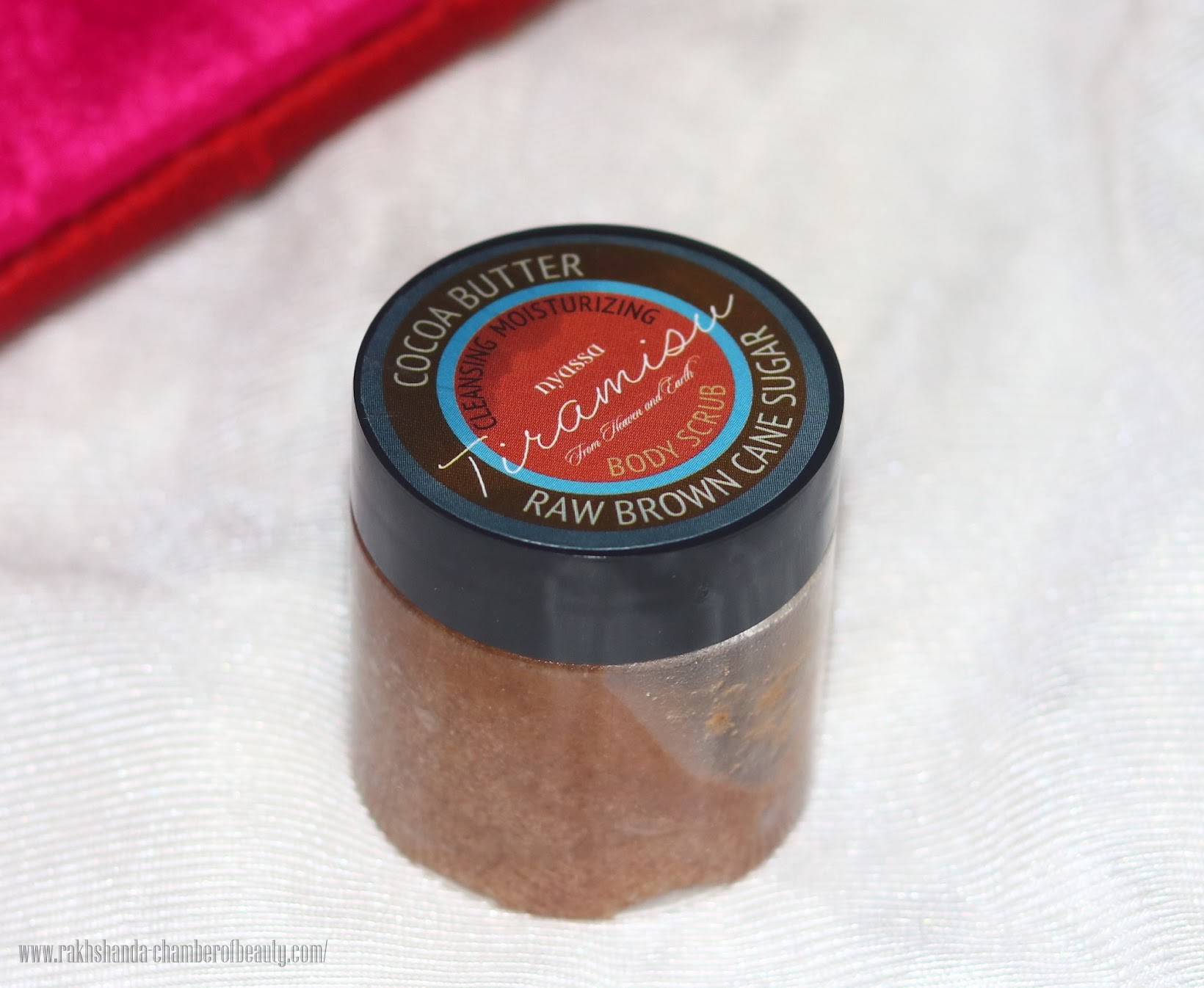 Fab Bag October 2015- review, swatches & photos, Nyassa Brown Cane sugar Body Scrub, Indian beauty blogger, Chamber of Beauty
