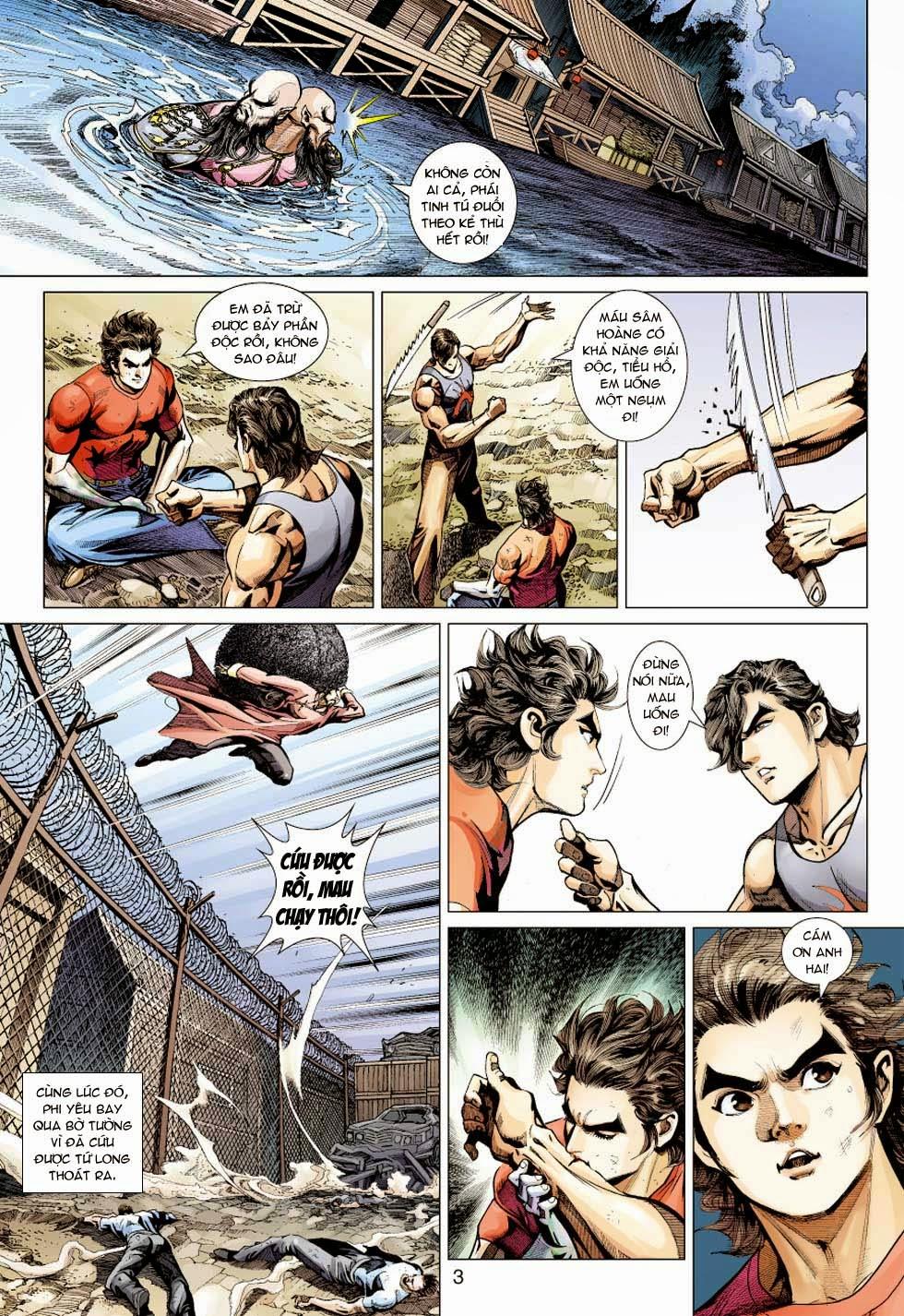 Tân Tác Long Hổ Môn chap 354 - Trang 3