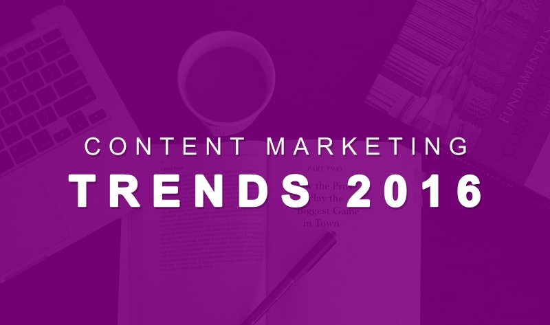 12 Content Marketing Trends Heating up in 2016 - #infographic