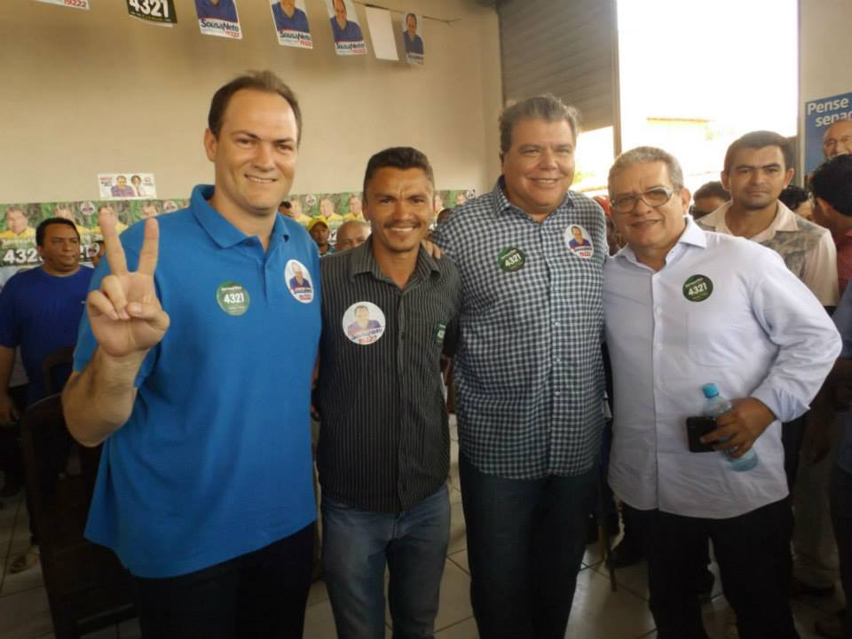 Sousa Neto inaugura comitê em Bom Jardim