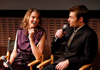 Lucy Lawless and Liam McIntyre at Spartacus War of the Damned Premiere event in NY