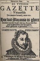 Tweede Gazette Universele van 1621