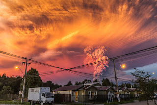 Calbuco Volcano Eruption