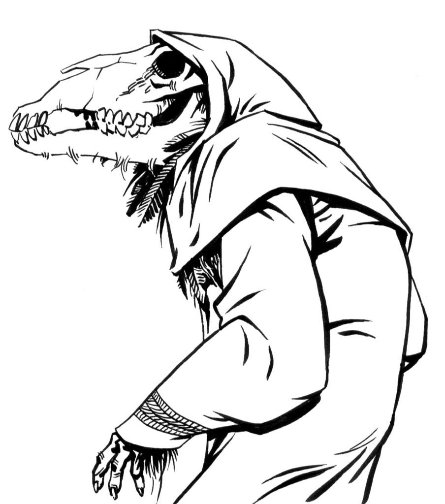 Dibujos De Terror Para Colorear Dibujos De Miedo Para ...