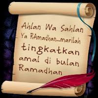 ahlan wa sahlan ya ramadhan Ucapan Selamat Puasa Ramadhan 1434 H 2013