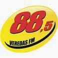 ouvir a Rádio Veredas FM 88,5 Lagoa da Prata MG