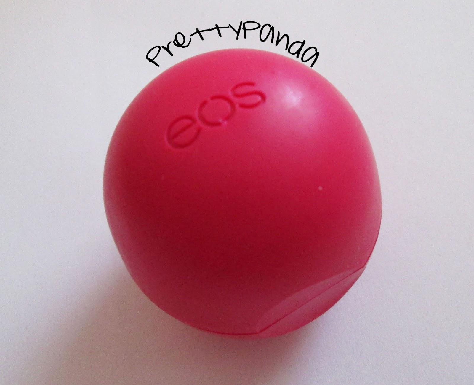 PrettyPanda: EOS Pomegranate Raspberry: Quick Review
