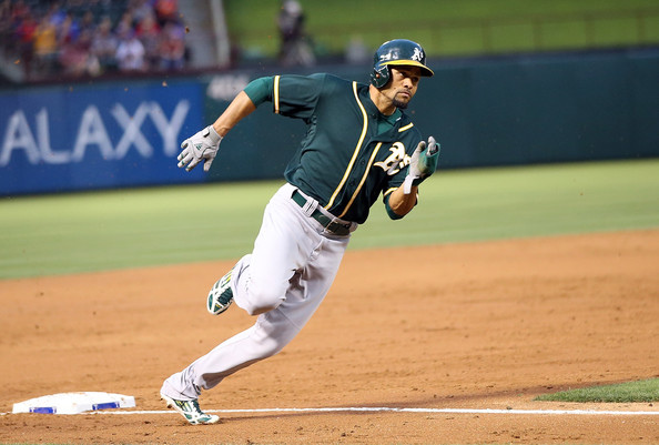 Coco Crisp (Photo Credit: Rick Yeatts/Getty Images North America)