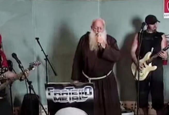 The Heavy Metal Monk