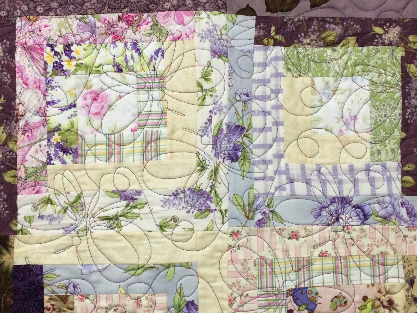 Judi Castro Lavender Quilt