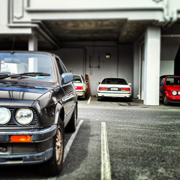 2 BMW E30's, FC Mazda RX7, Volkswagen Golf Mk1 Cabrio spotted in Byron