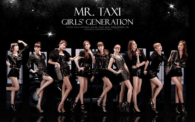 SNSD Mr. Taxi