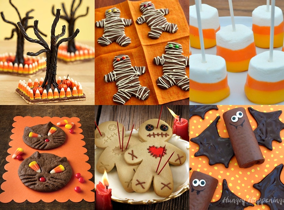 Easy Cake Decorating Halloween : Easy Halloween food ideas - desserts ~ charlie hunnam married