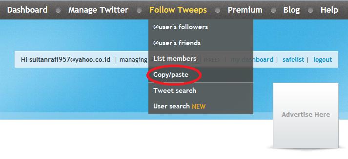 pilih copy paste