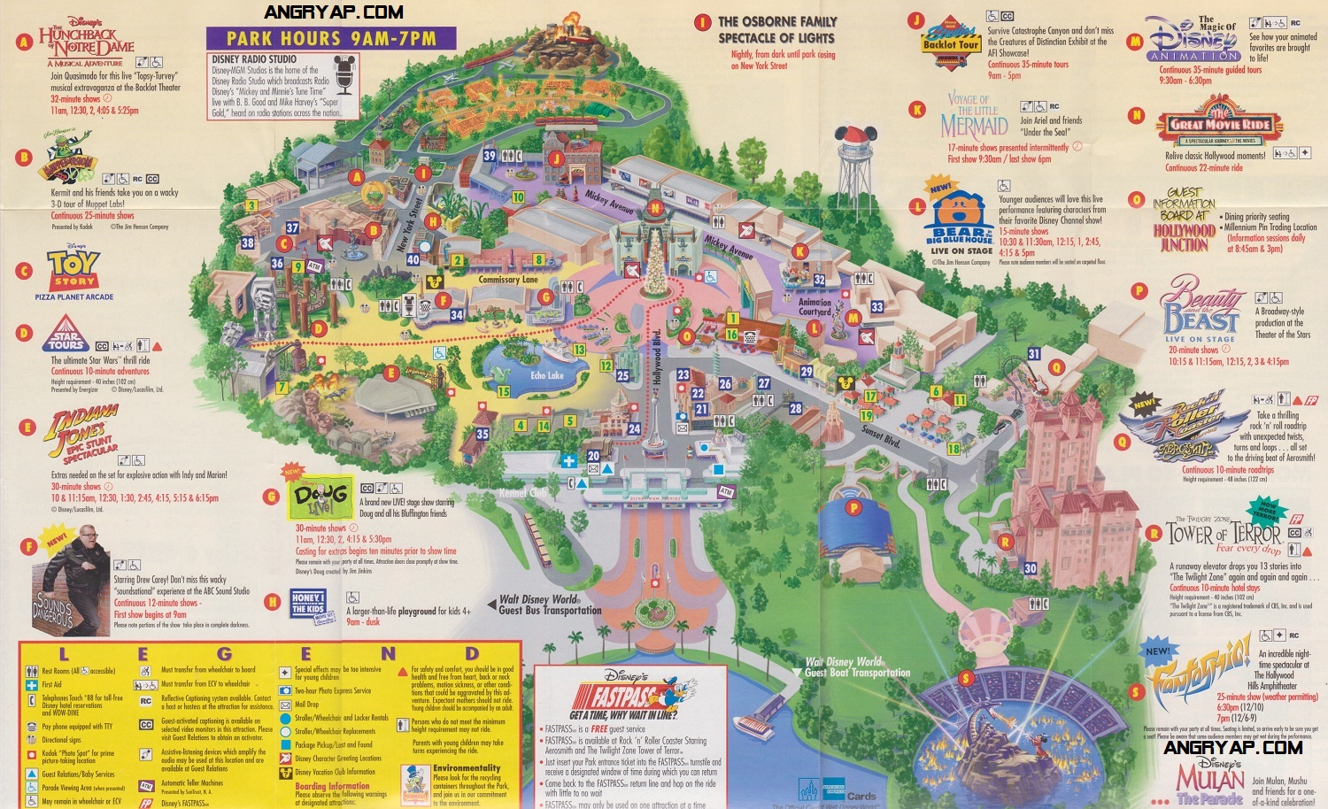 Hollywood Studios Map 2016 Pictures to Pin on Pinterest PinsDaddy