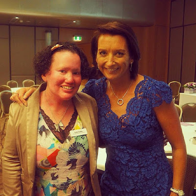 Layne Beachley and I