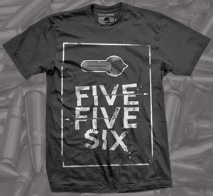 Five Five Six firearm shirt