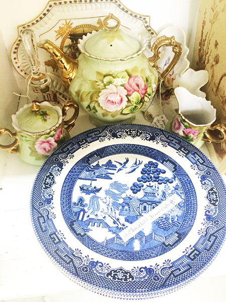 vintage china, vintage dishes, vintage tea set