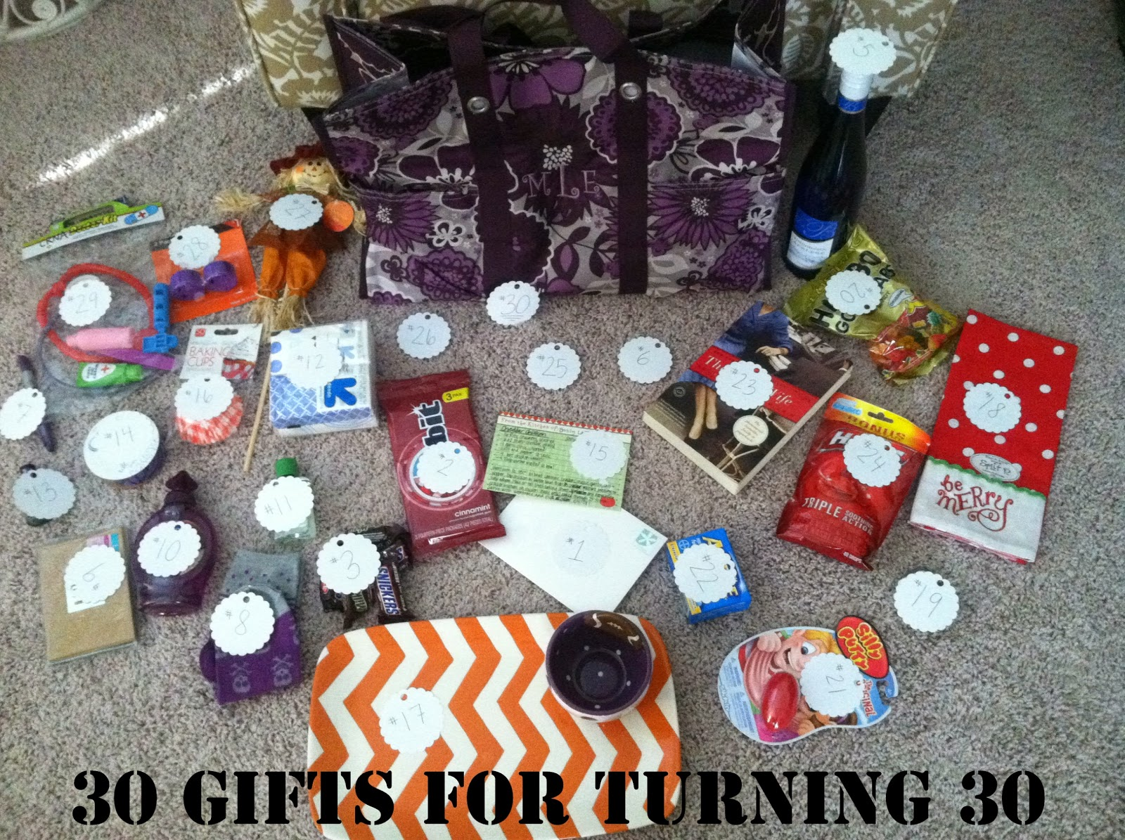 30th Birthday Gift Idea 30 Gifts For Turning
