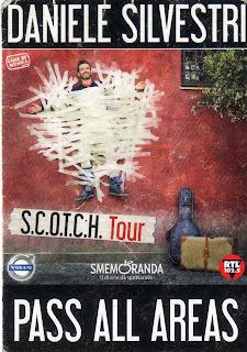 Pass Daniele Silvestri S.C.O.T.C.H. Tour 2011