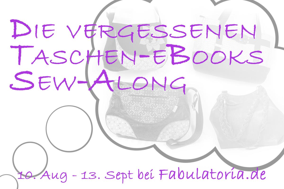 """Sew-Along """"Vergessene Taschen-Ebooks"""""""