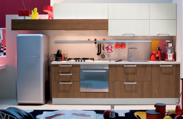The blonde mind smeg is swag - Cucina con frigo smeg ...