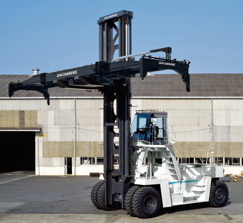 Nissan TCM Unicarriers Container Handler
