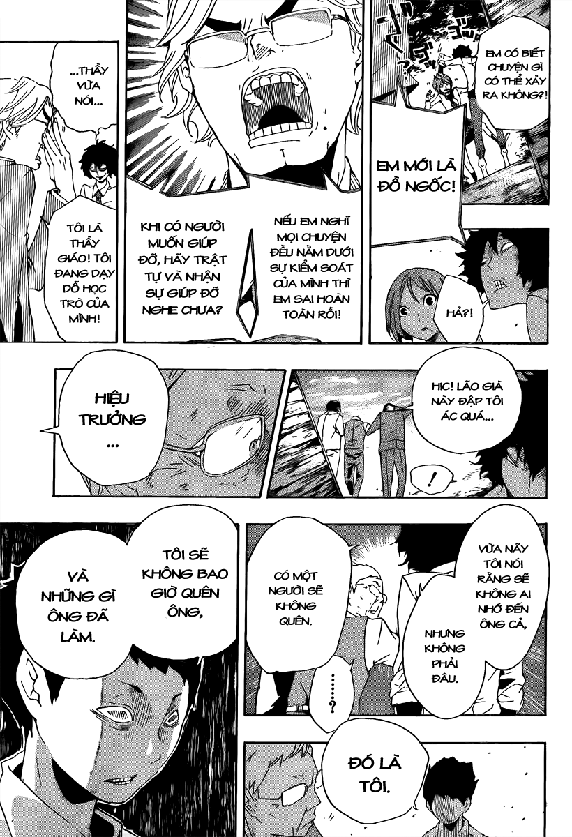Kiben Gakuha, Yotsuya Senpai no Kaidan chap 17 Trang 9 - Mangak.info