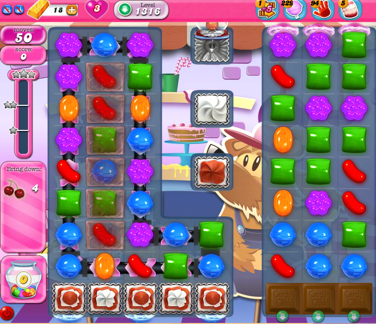 Candy Crush Saga 1316