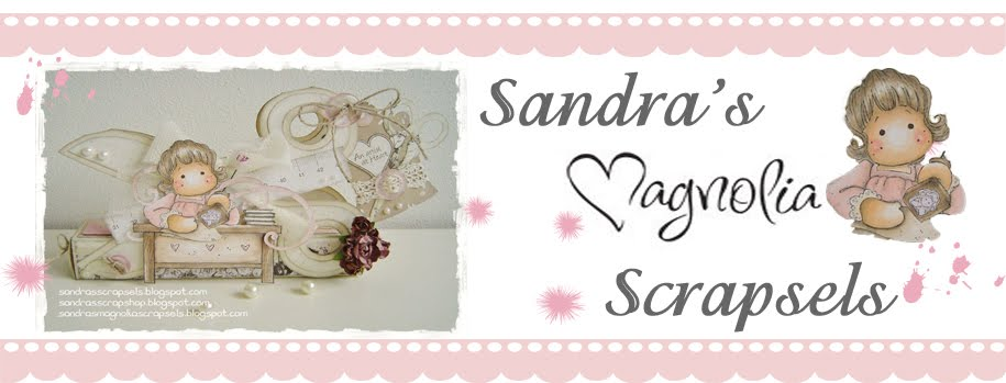 Sandra&#39;s Magnolia Scrapsels