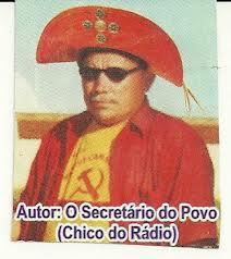 CHICO DO RADIO ESCRITOR  E PRODUTOR DE CORDEL