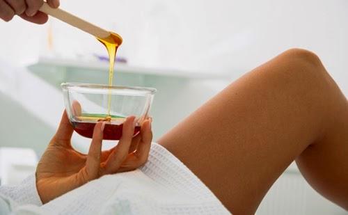 wax lông hiệu quả với Mật Ong