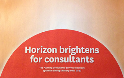 Horizons brighten for planning consultants