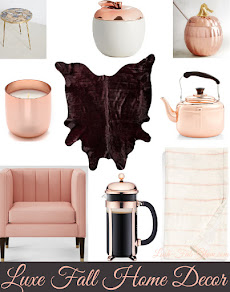 Make  A Luxe Statment With Your Fall Home Decor.