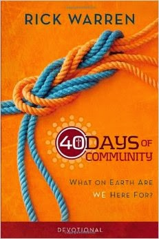 40 days of prayer rick warren