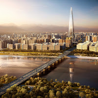 Seoul - Lotte World Tower- the 2nd tallest building in the World