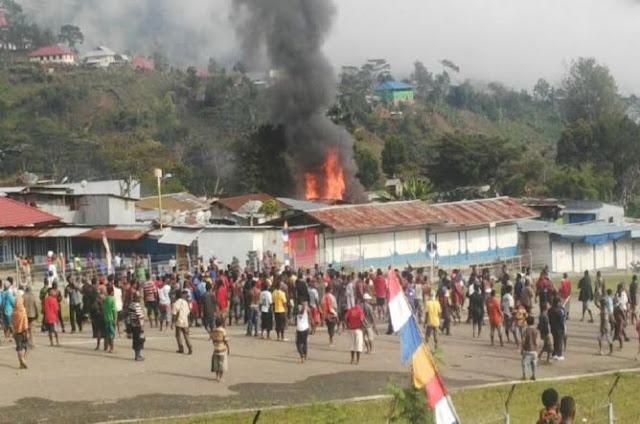 Masjid Di Papua Dibakar