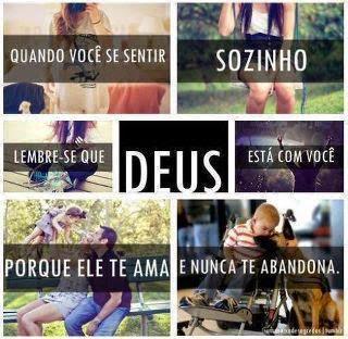 ♥ Que Jesus seja sua melhor companhia!
